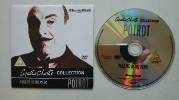Hercule Poirot Murder in the Mews DVD Originally Released  by the Daily Mail